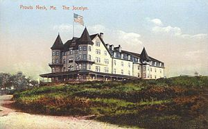 Prouts Neck - The Jocelyn Hotel c. 1908