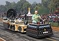The Karnataka tableau passes through the Rajpath during the Republic Day Parade, 2011.jpg