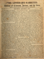 The Literary gazette, or, Journal of criticism, science, and the arts (1821, Vol. 1, Philadelphia).png