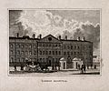 The London Hospital, Whitechapel; the facade. Engraving, c.1 Wellcome V0013774.jpg