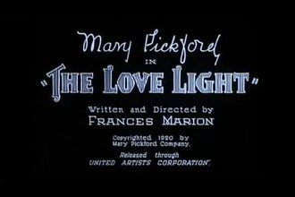 Fichier:The Love Light (1921).webm