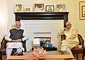 The Prime Minister, Shri Narendra Modi calls on Advani Ji to greet him on his birthday, in New Delhi on November 08, 2017 (2).jpg