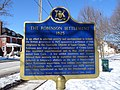 The Robinson Settlement 1825 plaque Peterborough Ontario.jpg