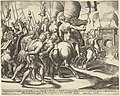 The Triumph of Scipio who rides on a horse followed by captured slaves MET DP837622.jpg