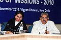 The Union Minister for Overseas Indian Affairs, Shri Vayalar Ravi chairing the two-day Conference of Head of Missions of GCC Countries and Jordan, Libya, Yemen, Malaysia & Maldives, in New Delhi on November 29, 2010.jpg