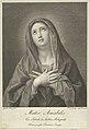 The Virgin looking upwards with hands crossed over her chest, after Reni MET DP841772.jpg