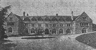 St. Albans School (Washington, D.C.) - The Lane-Johnston building of St. Albans School in 1910.