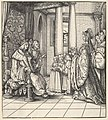 The White King Receiving His Daughter Margaret and the Children of King Philip, from Der Weisskunig MET DP834074.jpg