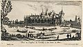 The castle at Chantilly near Paris. Etching by I. Silvestre. Wellcome V0050020.jpg
