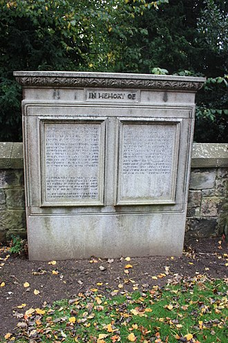 Louisa Stevenson - The grave of Louisa and Flora Stevenson, Dean Cemetery, Edinburgh