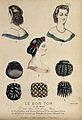 The heads and shoulders of three women with plaited and ring Wellcome V0019883ER.jpg