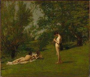 Arcadia (painting) - Image: Thomas Eakins Arcadia