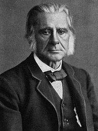 Thomas Huxley is sometimes misattributed with proposing a variant of the theory in his debates with Samuel Wilberforce.