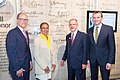 Thomas Perez, Eleanor Holmes Norton, Paul Kuntzler, and Eric Fanning, 2015.jpg