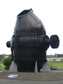 トーマス転炉 日本鋼管(現JFEスチール)京浜製鉄所で使用されていたも...  goo Wiki