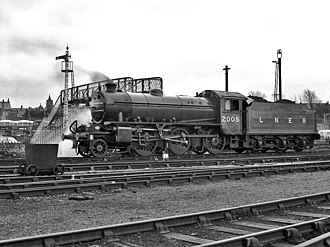 """LNER Thompson/Peppercorn Class K1 - Preserved loco no. 62005 (as """"2005"""") at Carnforth"""