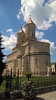 Trei Ierarhi Monastery heritage site in Iași County, Romania
