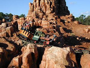 Magic Kingdom's Big Thunder Mountain