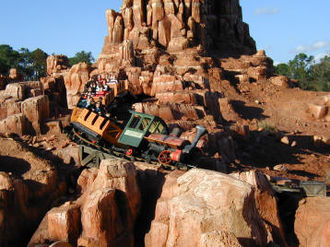 Frontierland - Magic Kingdom's Big Thunder Mountain