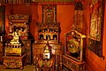 Tibetan Buddhist Shrine Room, Alice S. Kandell Collection, from Tibet, China, and Mongolia, 13th-20th century, mixed media - Arthur M. Sackler Gallery - DSC05139.jpg