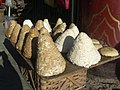 Tibetan cheeses - Zhongdian Market (4150211480).jpg