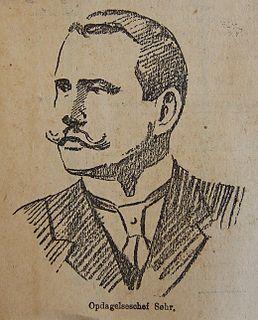 Johan Søhr Norwegian police chief