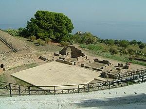 Patti, Sicily -  The Roman theater