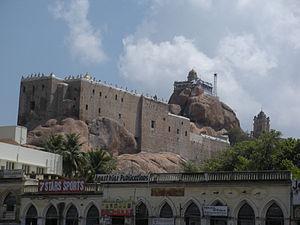 Hinduism in Tamil Nadu - Tiruchirapalli Rockfort
