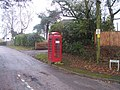 Tiverton , Mayfair Road Telephone Box - geograph.org.uk - 1268477.jpg
