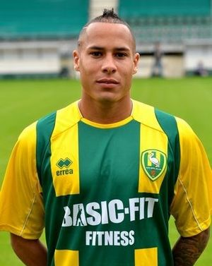 Tjaronn Chery - Chery presented as a ADO Den Haag during his two year spell there.