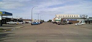 Tofield - Main street