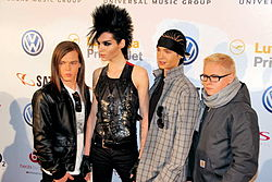 I Tokio Hotel agli MTV Europe Music Awards 2009