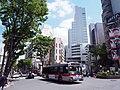 Tokyu Bus T1334 Shibu24 Seijo Line at Dogenzaka ERGA Hybrid LV234.jpg