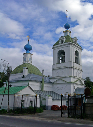Tomilino - Zhilino church of the Assumption of the Divine Mother (18th century)