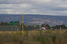 "Photograph showing ""End Tonkin Highway"" sign"