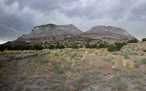 Topaz Mountain - Topaz Mountain from the East