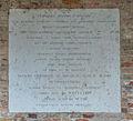 Torcello - Santa Maria Assunta - plaque.JPG