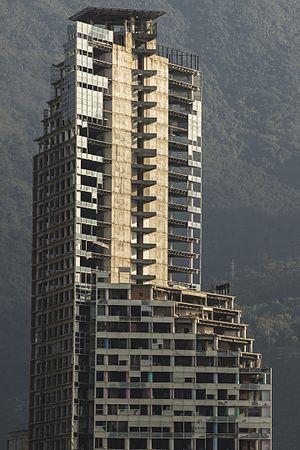 Centro Financiero Confinanzas - The Centro Financiero Confinanzas, or Tower of David, still remains unfinished and unused as of 2017