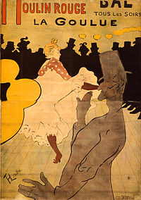 Toulouse-Lautrec, Henri de - Moulin Rouge-La Goulue - Google Art Project.jpg