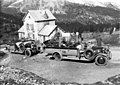 Touringcar in de Alpen - Touring group with motor coach on the Alps (4796119990).jpg