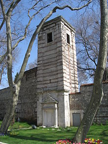 Tower First Court Topkapi March 2008.JPG