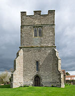 Tower of St. Giles Church, Chesterton.jpg