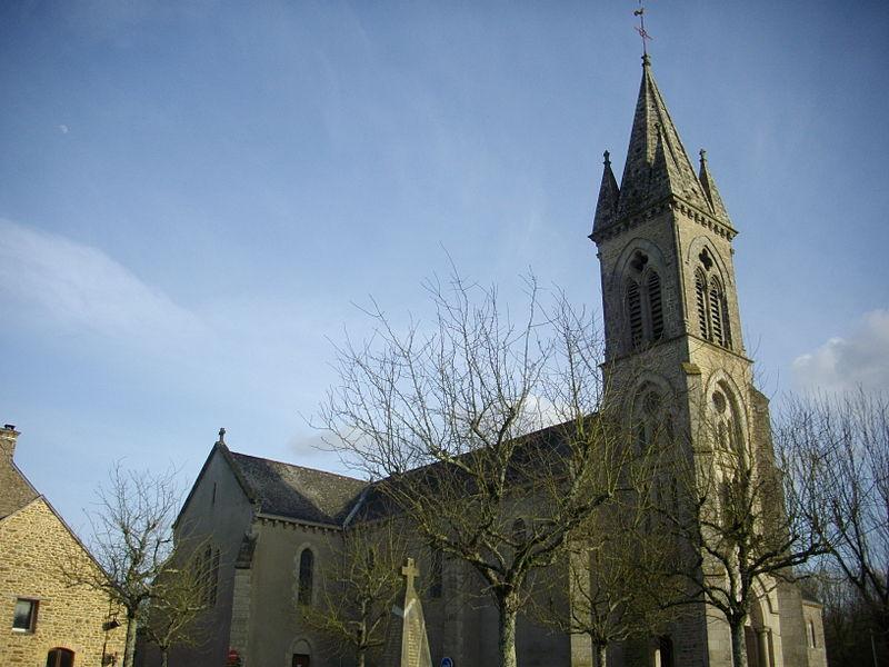 Church of Trédion (Morbihan, France), dedicated to Martin of tours