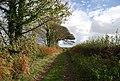 Track east from Little Worsham Farm - geograph.org.uk - 1578728.jpg