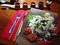 Traditional Bulgarian dish with local wine.jpg