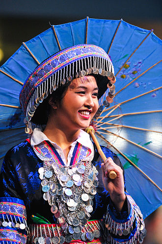 Hmong Americans - Image: Traditional Hmong Dress at Festal Seattle Center Seattle Washington