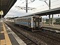 Train of Chikuho Main Line at Keisen Station.jpg