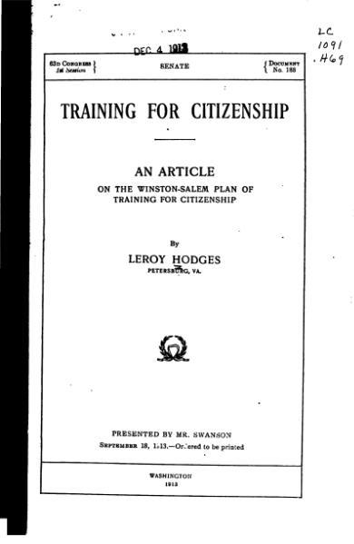 File:Training for Citizenship.djvu