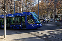 Tram Montpellier 11 2013 Line 1 841.JPG