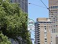 Tram lane sign, Melbourne.jpg